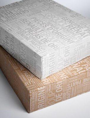 بسته بندی اصلی لوازم یدکی رنو
