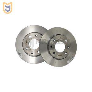 دیسک ترمز چرخ جلو مناسب پژو 206 صندوق دار V20 ایساکو مدل 0670201807