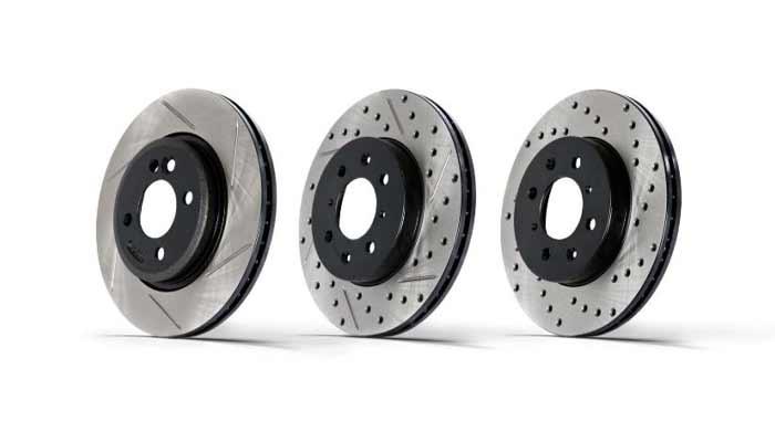 انواع دیسک ترمز چرخ جلو خودرو