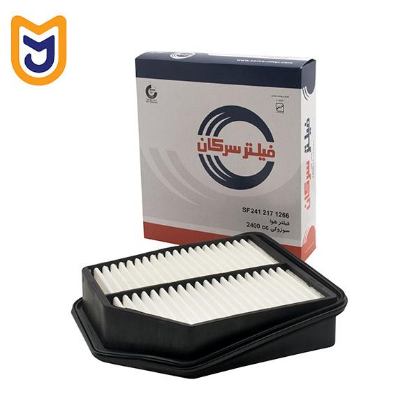 فیلتر هوا خودرو سرکان مدل SF 1266 مناسب برای سوزوکی گرندویتارا 2400