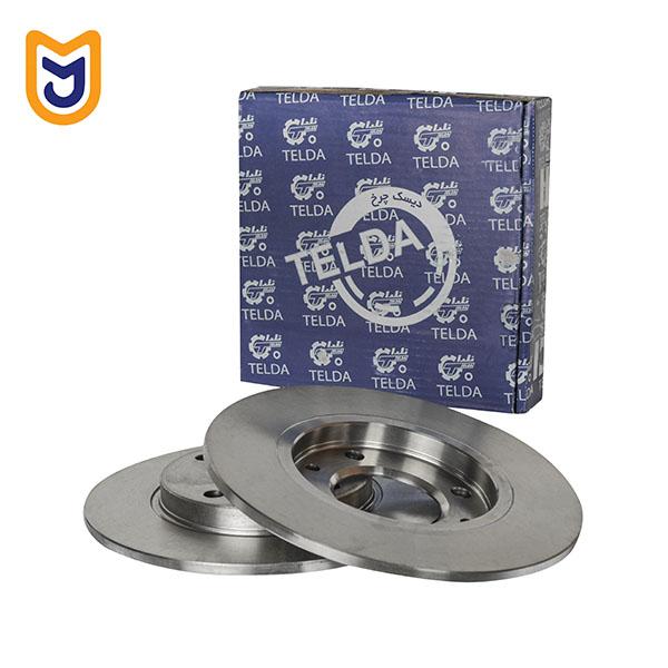 Telda Rear Disc brake for peugeot 206 type 5