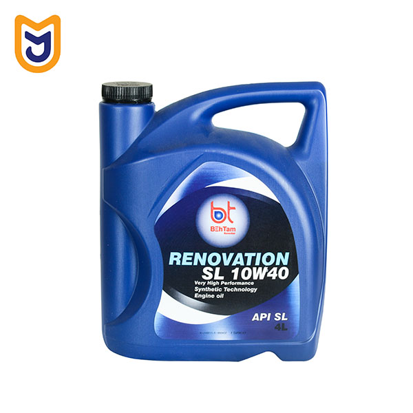 engine oil Behtam 10W40 Renovation 4 Liters