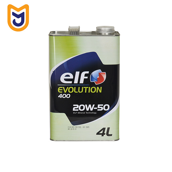 Elf Evolution 400 4L 20W-50 Car Engine Oil