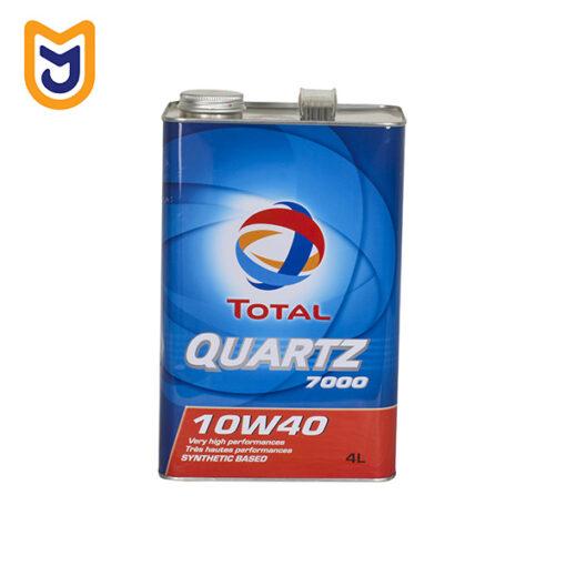 Total Quartz 7000 Car Engine Oil 4L