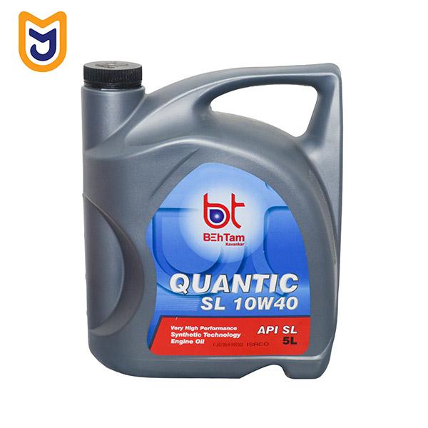 روغن موتور خودرو بهتام مدل QUANTIC SL 10W40 (پنج لیتری)