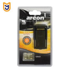خوشبو کننده دریچه ای داخل کابین خودرو آرئون areon مدل BLISTER GOLD